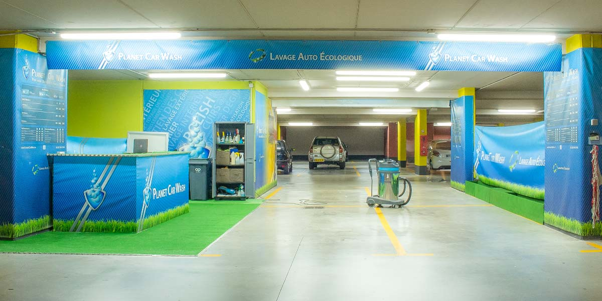 Planet Car Wash - Centre commercial Castelli